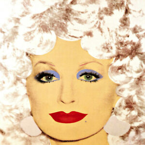 Andy Warhol Dolly Parton #2 Canvas Print 17 x 17  #8773