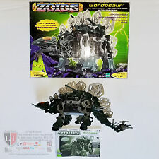 Zoids Gordosaur #008 1/72 Scale Motorized Robot Dinosaur Figure Hasbro Tomy 2002