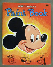 Mickey Mouse Paint Book -- Unused VF+ condition -- 1944