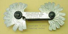 STAHLWILLE  Germany 12665/52 British Whitworth / Metric Screw Thread Pitch Gauge