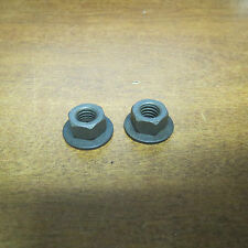 NOS 1972 FORD TORINO HOOD LATCH SUPPORT MOUNTING NUTS - PAIR