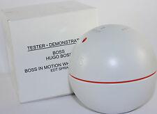 BOSS IN MOTION WHITE EDITION BY HUGO BOSS 3.0 OZ EDT SPRAY TESTER FOR MEN