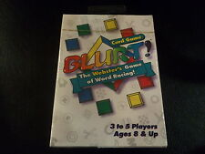 Mattel Blurt! Card Game Webster's Game of Word Racing! For Parties, Family Fun