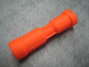 Oil Dipstick Tube Holder (Orange Plastic) for VW/Audi - Ships Fast!