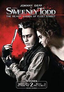 Sweeney Todd: The Demon Barber of Fleet Street (DVD, 2008)
