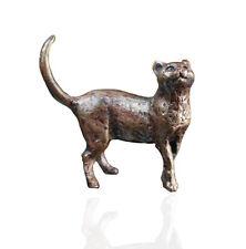 Bronze Cat Standing - Bronze Miniature Sculpture - Butler & Peach 2026