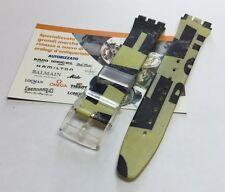 Cinturino in plastica Swatch tema graffiti originale attacco 17mm