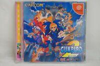GUNBIRD 2 Dream Cast  SEGA Psikyo TESTED disk is beautiful. from Japan