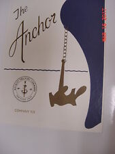 1985 US NAVY Basic Training School Yearbook / San Diego, CA. THE ANCHOR Comp-923
