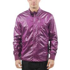 Men's PUMA By HUSSEIN CHALAYAN WindBreaker Jacket Purple size XL $160