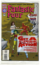 Fantastic Four #394 (1994; vf+ 8.5) fault free -  bagged with 16pg bonus title