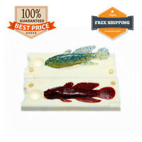 🔥 Goby Fishing Mold Lure Bait Mold DIY Soft Plastic 50-87 mm