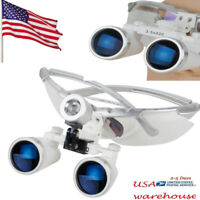 Dentist Dental Surgical Medical Binocular Loupes 3.5X 420mm Optical Glass Loupe