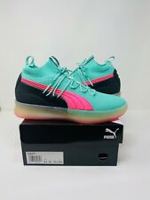 Puma Clyde Court Mens Size 10.5 Basketball Shoes South Beach Miami 191715 01