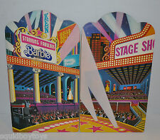 DONNY & MARIE STAGE SHOW Replacement wooden Boards / Pannel 1978 Barbie Mattel