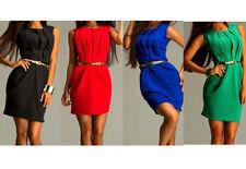 Sexy Kleid Minikleid Damen Mode Party Elegant Club Abend Cocktailkleid XS S M L