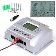 80A Solar Laderegler Solarregler 12V/24V MPPT Auto Controller+10pcs Schrauben H*