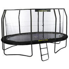 15ft x 10ft Jumpking OvalPOD Oval Trampoline with Enclosure (JPO1015G17)