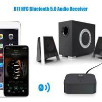 Bluetooth 5.0 RCA Audio Receiver aptX LL 3.5mm Jack Wireless Aux Module Ada C6C4