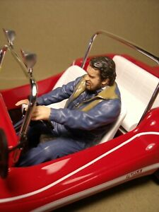 1/18  FIGURE  BUD SPENCER  DRIVING  VROOM  FOR   MINICHAMPS  AUTOART  NOREV