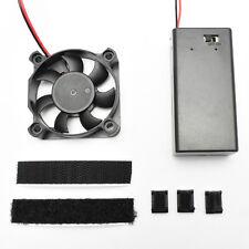 """2"""" Cooling Fan Kit - 9v Battery Powered - For helmet de fog DJ Mask Costume"""