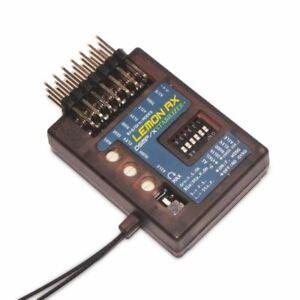 LEMON RX 7 Channel DSMP Stabilizer PLUS Diversity END Pin Receiver DSMX/2 *UK *