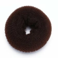 Foam Sponge Magic Donut Bun Former Maker Ring Hair Styling Tool Brown Chic Y8N8
