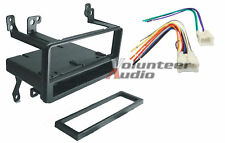 Car Stereo Radio CD Player Dash Install Mounting Kit Bezel Panel Trim + Harness