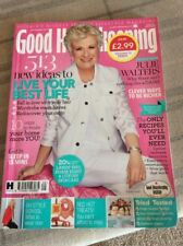 GOOD HOUSEKEEPING SEPTEMBER 2017 TRAVEL EDITION JULIE WALTERS ON COVER