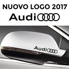ADESIVI AUDI SPECCHIETTI auto 2 stickers A3 A4 A5 A6 Q3 Q5 Q7 TT Sline s3 s4