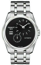 Tissot Couturier Automatic Black Dial Stainless Steel Men's Watch T0354281105100
