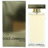 The One by Dolce & Gabbana, 3.3 oz EDT Spray for Women Eau De Toilette