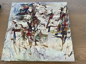 """Vtg Springbok Puzzle Geoge Went Swimming at Barnes Hole"""" Joan Mitchell"""