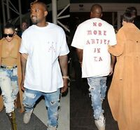 NEW Life of Pablo Kanye West Yeezus No More Parties in LA T-Shirt S M L XL