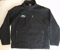 2007 Nascar Scotts Team Racing Carl Edwards 60 Sponsor Large Fleece Lined Jacket