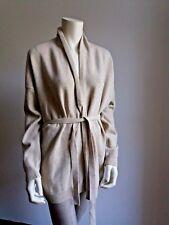 ❄❄NEW#  Studio MAX MARA Cashmere&Wool Natural Cardigan, size M