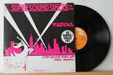 "12"" Maxi - VISUAL - The Music Got Me (7:25 min) - US Dance Disco Hit"