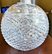 "Exquisite VINTAGE 5 3/4"" Waterford GLANDORE CUT CRYSTAL ROSE BOWL Vase MINT"