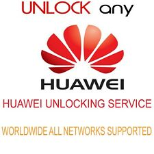 HUAWEI P20 PRO P20 LITE HONOR 7A 7X HONOR 9 LITE MATE 10 UNLOCK CODE ANY NETWORK