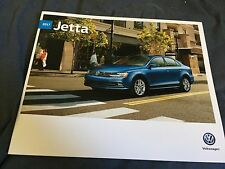 2017 VW Volkswagen Jetta USA Market Brochure Catalog Prospekt