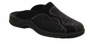 Rohde Ladies Slippers Cloqs Mules Felt Vaasa-D 2310