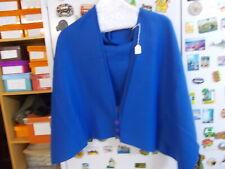 Brand New Lovely Blue Soft Light Fleece Shoulder Wrap/Bed Jacket     (M2348 )
