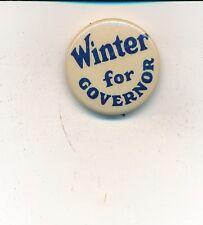 """1932 Edward Winter for governor 7/8"""" Missouri MO campaign button"""