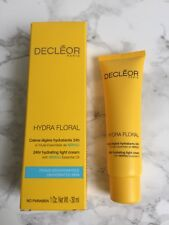 Decleor HYDRA FLORAL 24Hr Hydrating LIGHT Cream Moisturiser With Neroli Oil 30ml