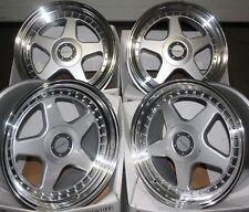 "17"" DR-F5 SPL ALLOY WHEELS FITS 4x100 BMW MAZDA MITSUBISHI NISSAN MODELS"