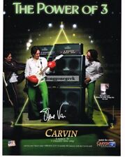 2010 CARVIN Legacy II Amplifiers STEVE VAI Vtg Print Ad