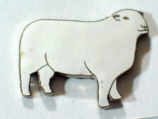 Hampshire Sheep Pin , Vintage Cloisonne , (Lg) * (**)