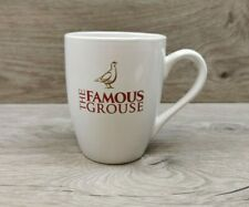 The Famous Grouse Scotch Whisky White Ceramic Collectable Tea / Coffee Mug