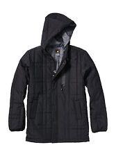 NEW* Quiksilver MENS M Jacket HOODY COAT $179 RV Yukon BLACK