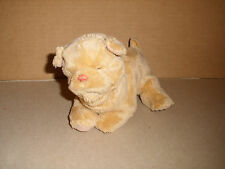 2008 HASBRO FUR REAL FRIENDS NEW BORN PUPPY TAN  INTERACTIVE TOY 7 IN